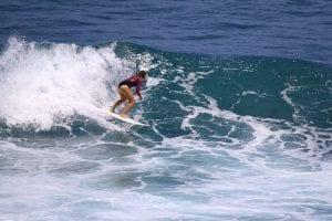 Mali James surfing Ulluwatu