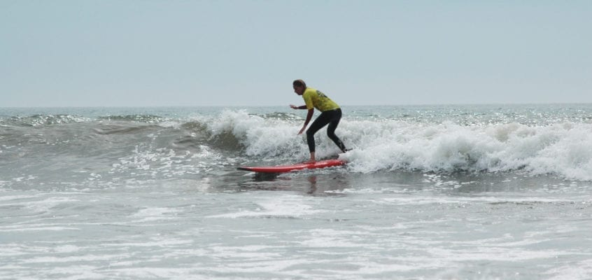 improver surf lesson
