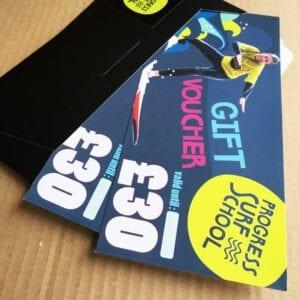 surf lesson gift voucher