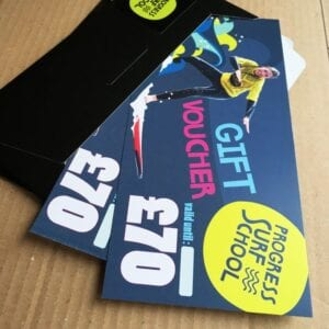 1to1 surf lesson gift voucher