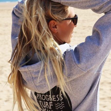 Surf School Beach Hoodie