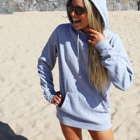 Sophie in the Surf School Beach Hoodie