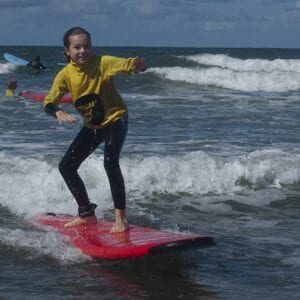 Kids Club Surf lesson