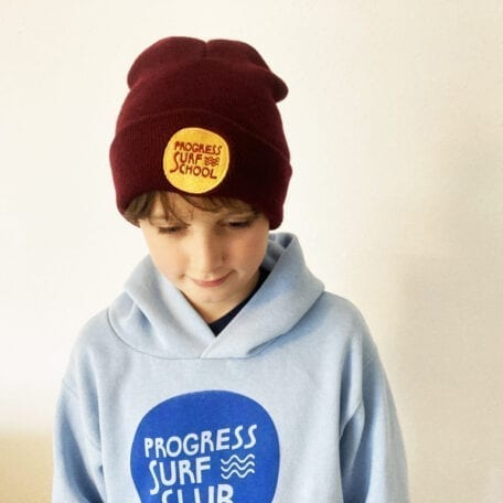 Progress Surf School Embroidered Beanie