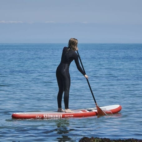 Paadddleboarding Lesson on the Gower image copyright guy harrop info@guyharrop.com 07866 464282
